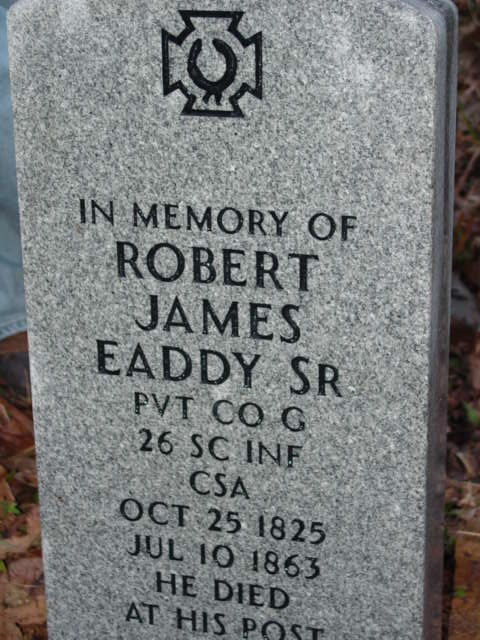 Robert James Eaddy, Sr. Died At His Post